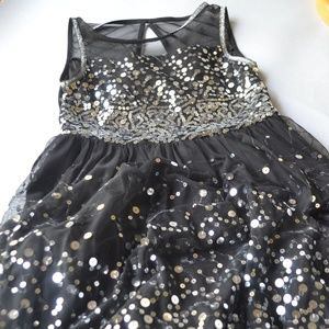 Black Special Occasion Dress for Girl Size 10